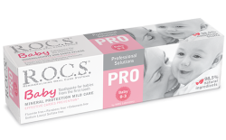 R.O.C.S. PRO BABY toothpaste For children aged 0 to 3