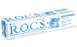 Toothpaste R.O.C.S. Blank verse WHITENING